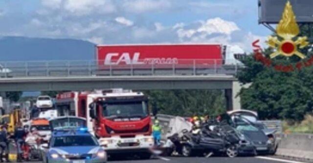 Autostrada grave incidente
