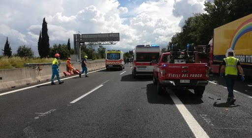 Arrestato padre incidente autostrada