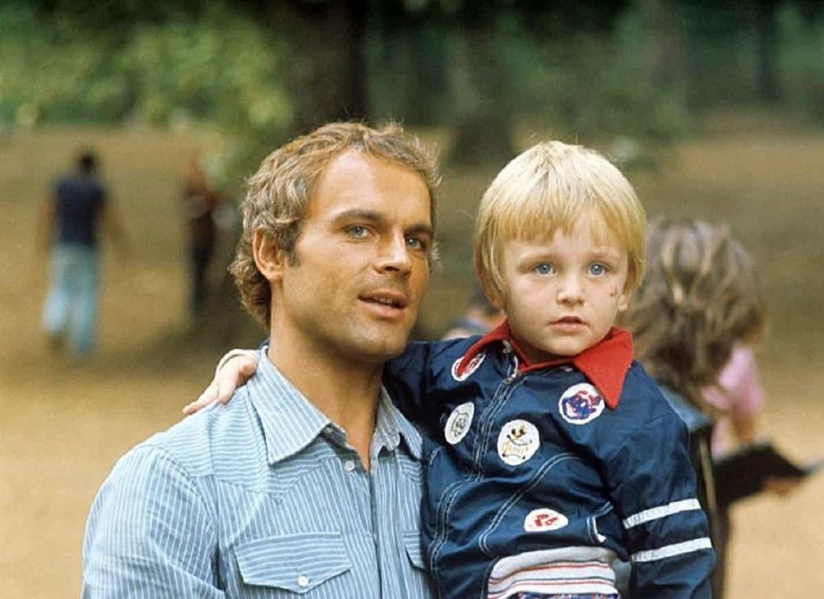 Terence Hill e il figlio