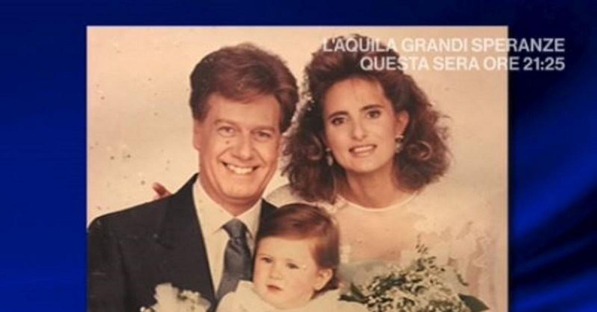 Claudio Lippa e la sua famiglia