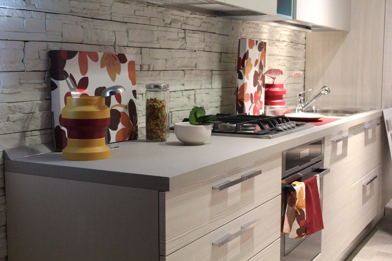 colore e creatività in cucina