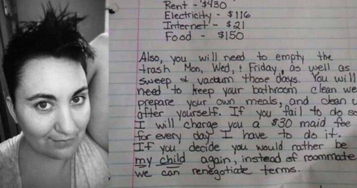 la lettera madre per un figlio ribella