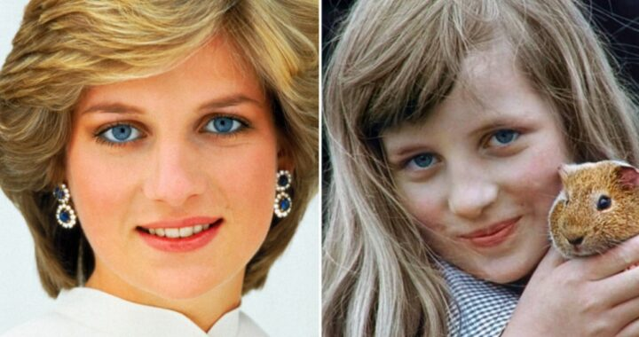 Lady Diana e la foto da bambina