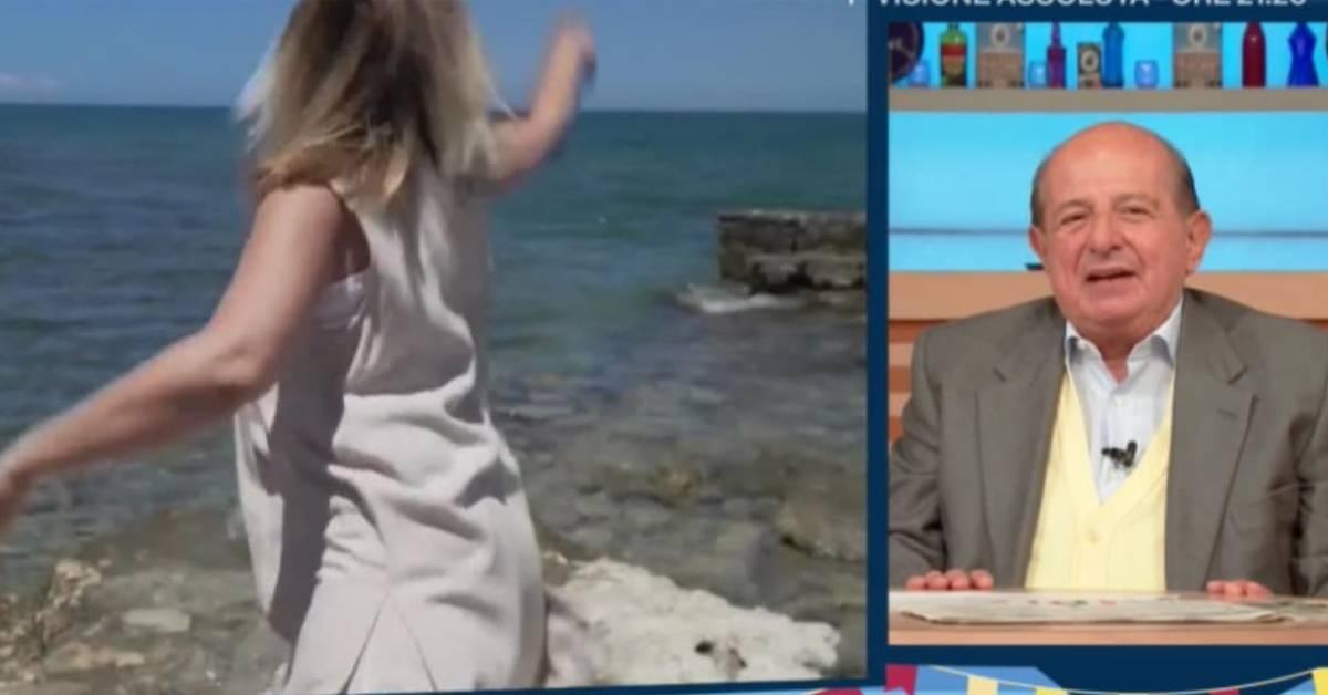 Giancarlo Magalli e Laura Squizzato