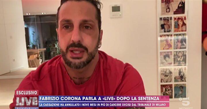 Fabrizio Corona da barbara D'Urso