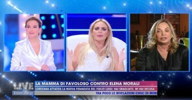 Live Non è la D'urso Elena Morali scontro con Simona Izzo.