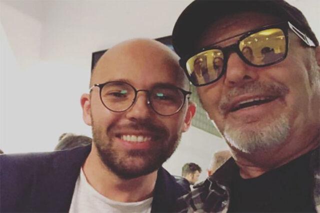 Lorenzo Rossi e il padre