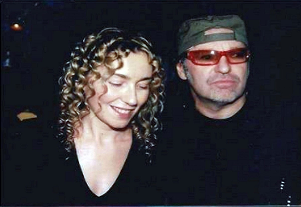 Vasco Rossi e la moglie
