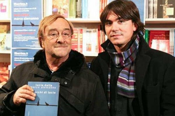 Marco Alemanno e l'ex compagno
