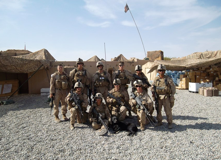 Marine in missione in guerra
