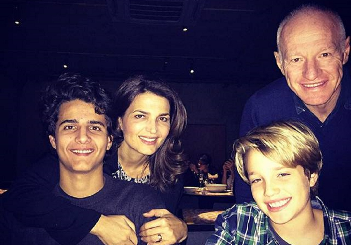 La famiglia di Massimo Martino