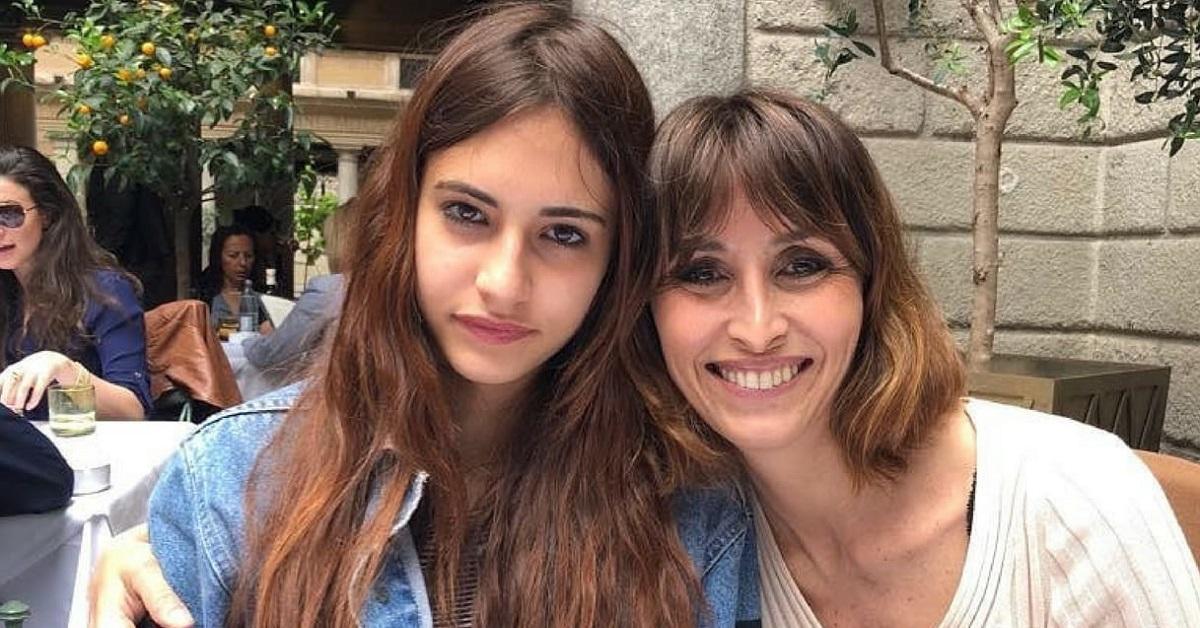 Matilde Caressa e la mamma