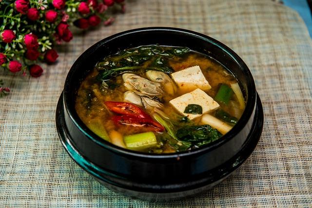 Ricetta della zuppa di miso