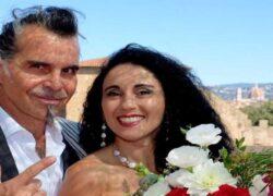 Piero Pelù e la moglie