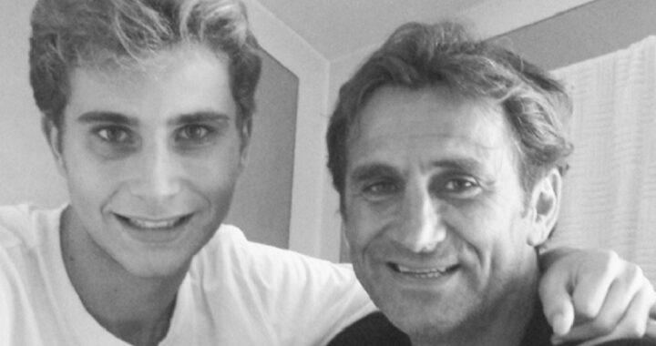 Niccolò Zanardi e Alex Zanardi