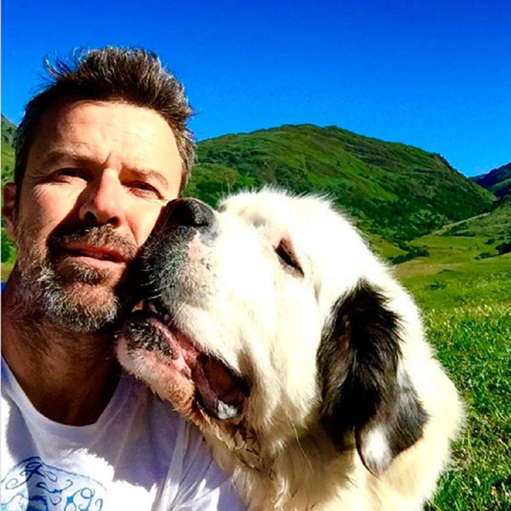 Pau Donés e il suo cane