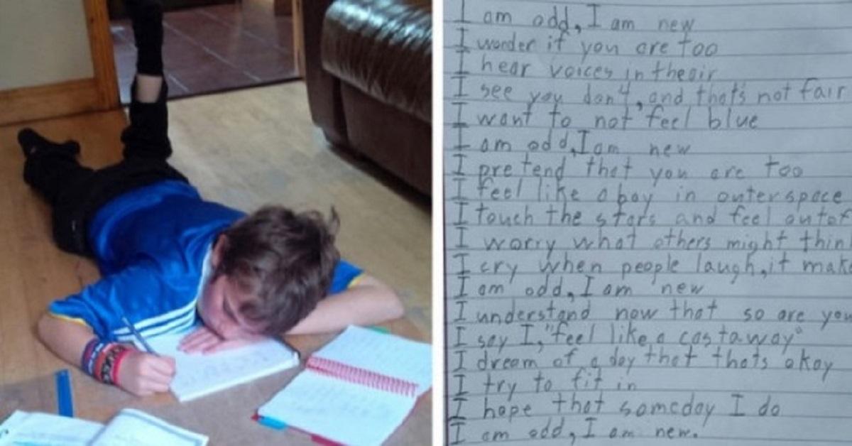 poesia ragazzo autismo