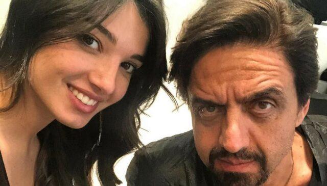 Rebecca Staffelli e il padre