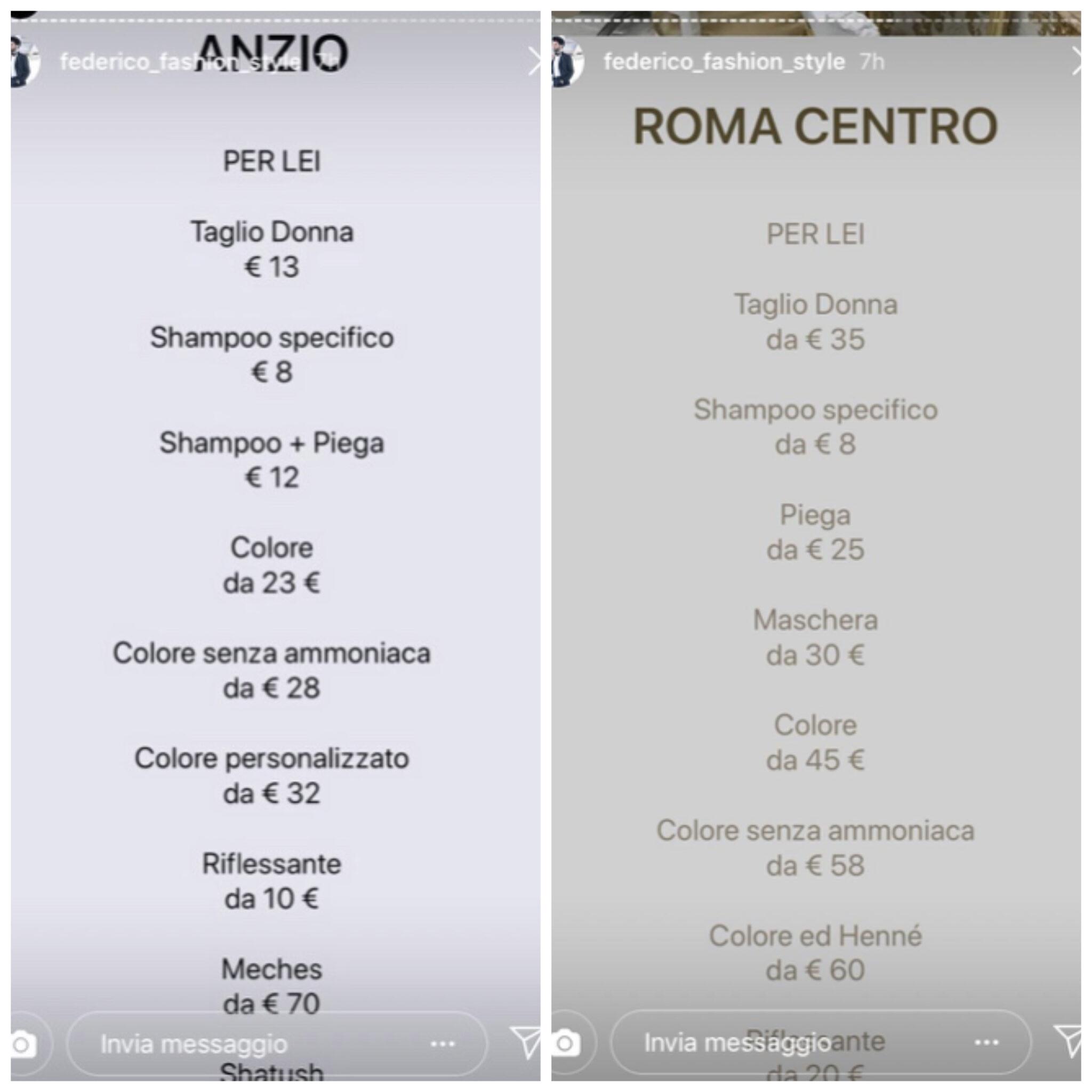 Anzio e roma prezzi