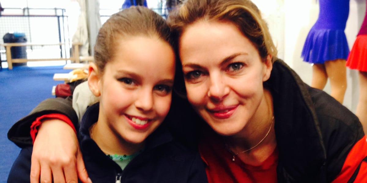 Rosa Enginoli e la madre