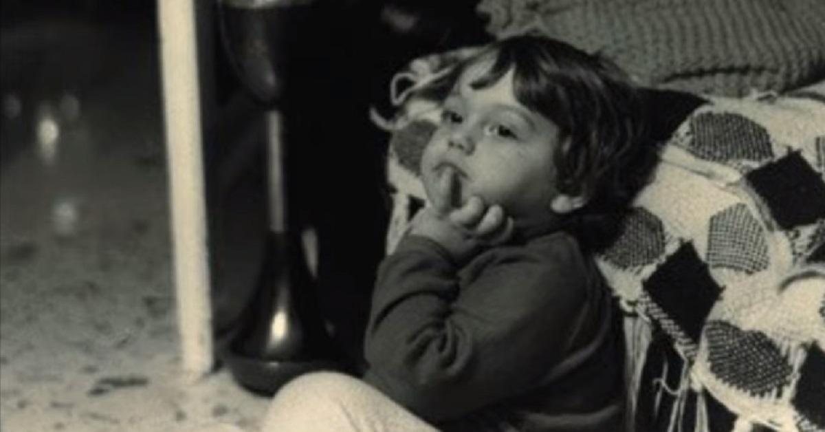 Tiziano Ferro da bambino