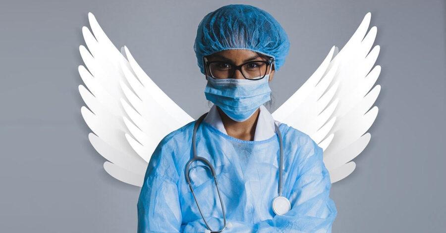 Medici e infermieri angeli