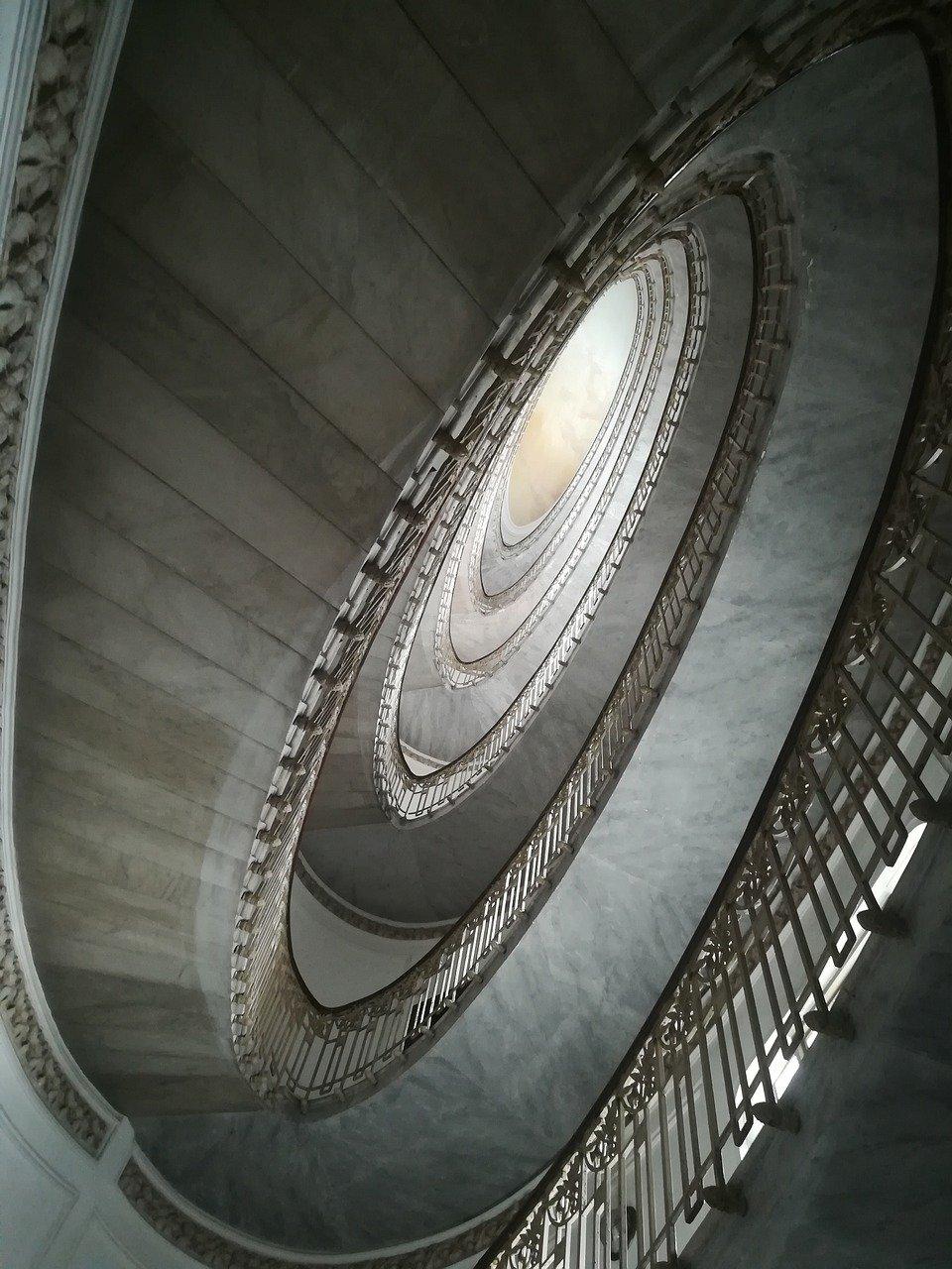 Scalinata di Palazzo Mannajuolo