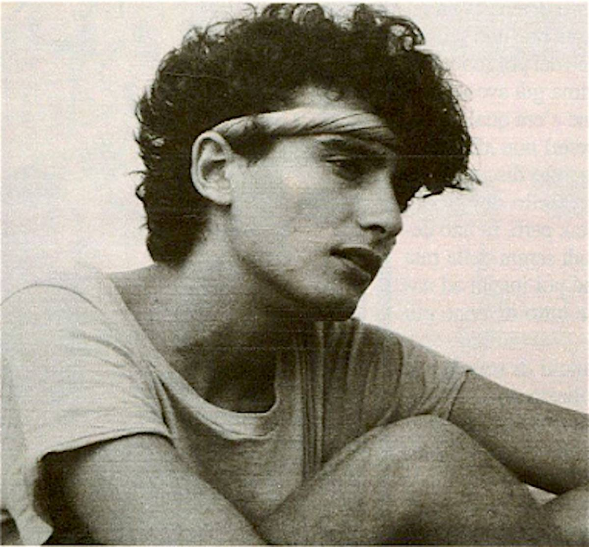 Vladimir Luxuria da giovane