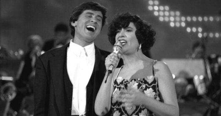 Gianni Morandi e Mia Martini