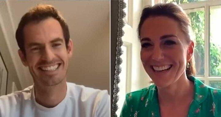 Kate Middleton e Sir Andy