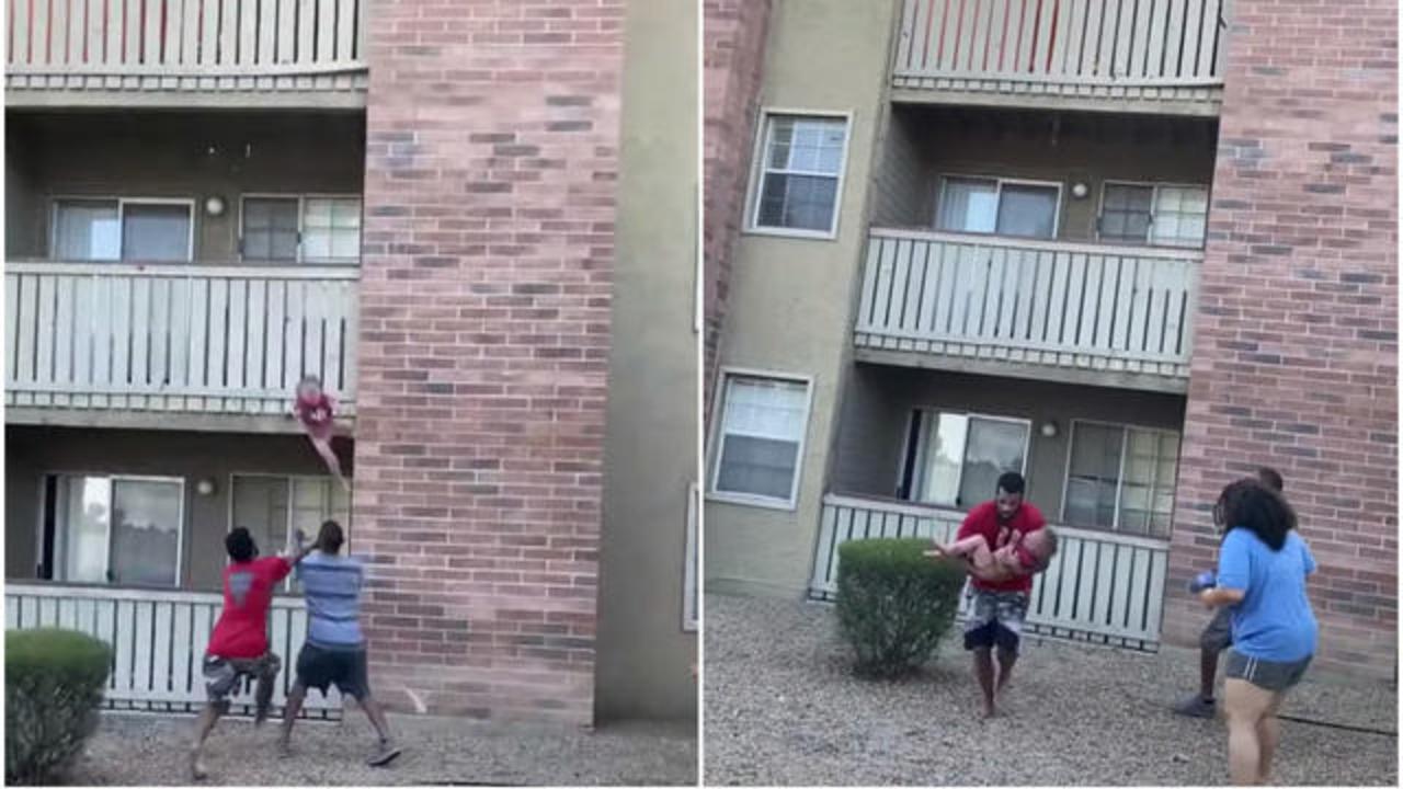 Bambino salvato da Phillip Blanks