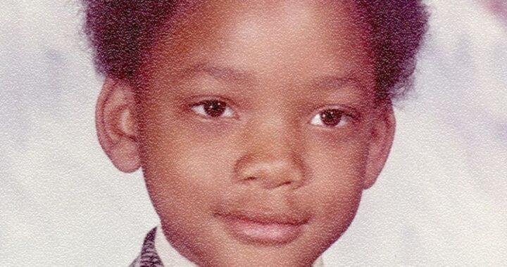 Will Smith da bambino