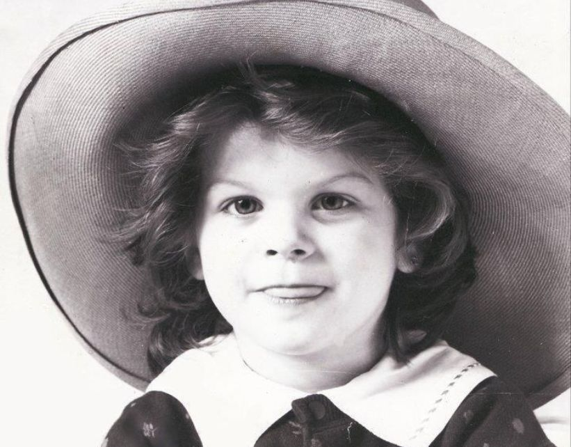 Alessandra Amoroso da bambina