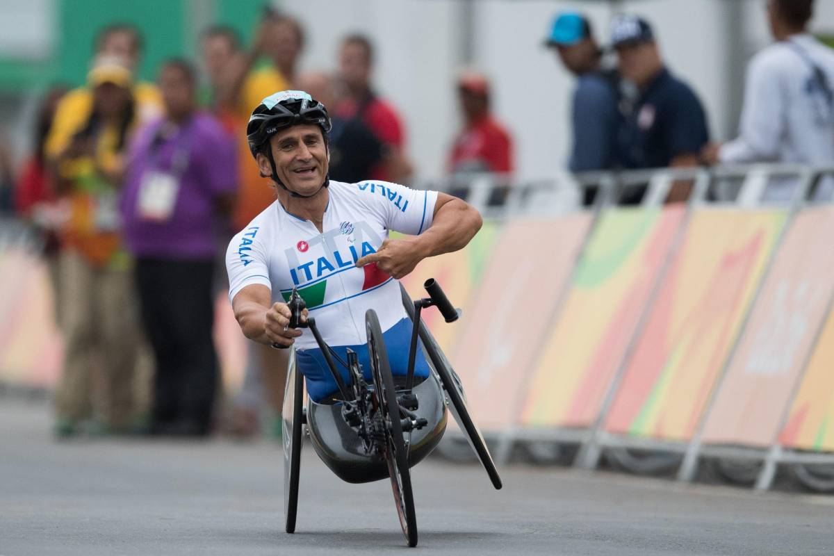 Alex Zanardi handbike