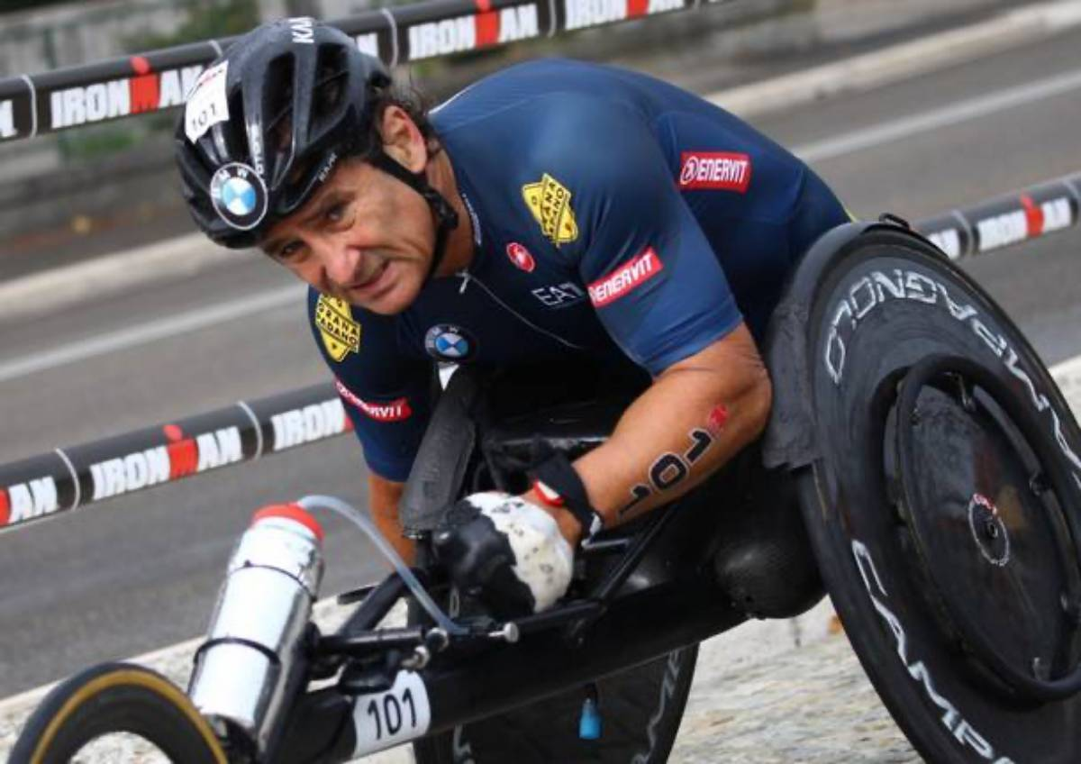 handbike Alex Zanardi