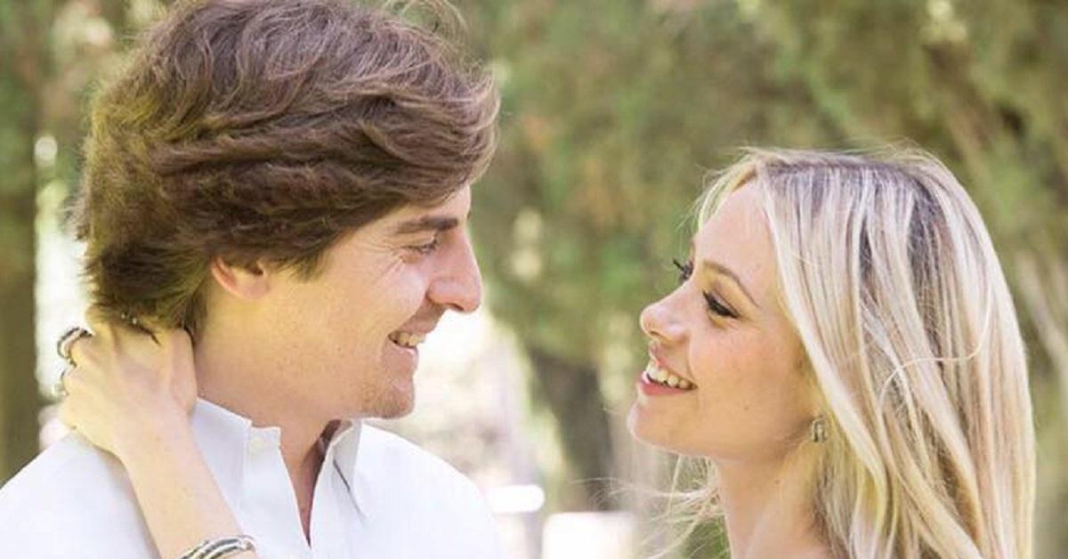 Martina Stella e il marito
