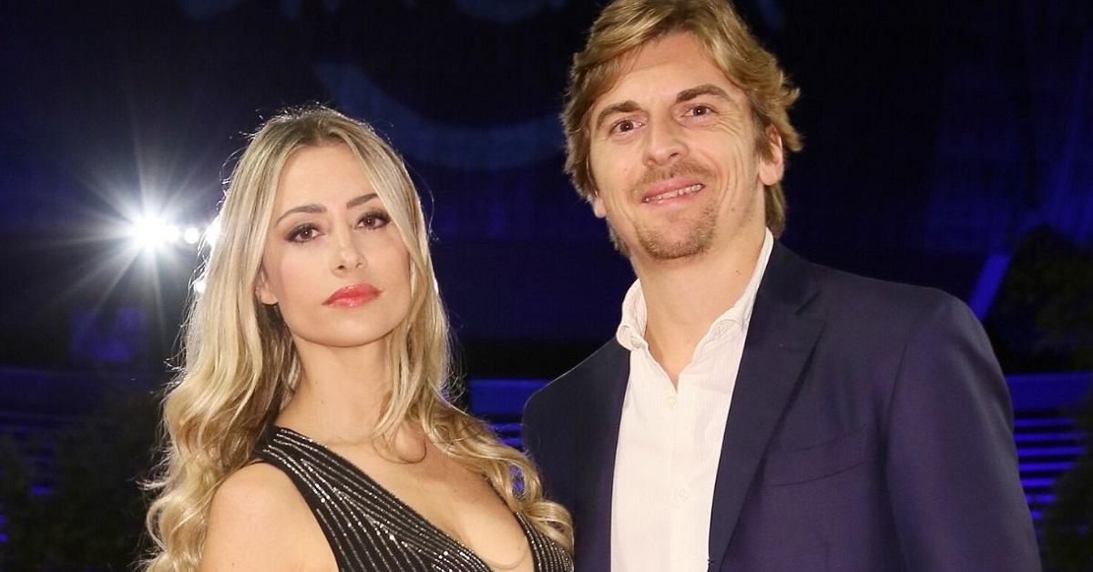 Martina Stella e Andrea Manfredonia