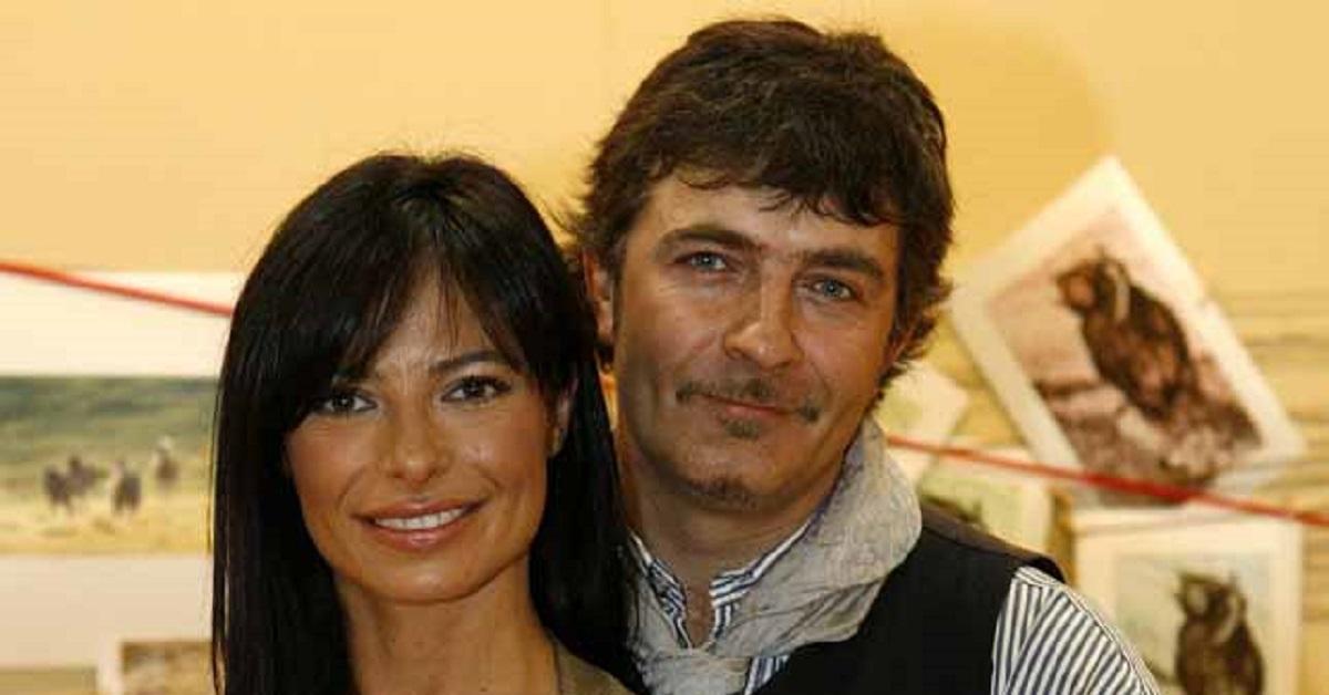 Natalia Estrada ed il nuovo marito