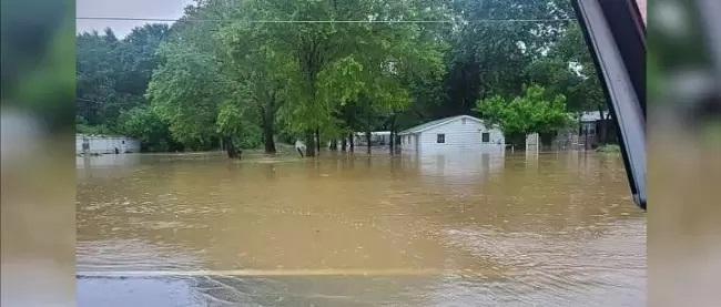 Forti piogge e inondazioni