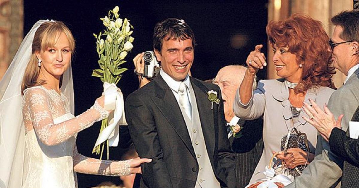 Matrimonio del figlio di Sophia Loren