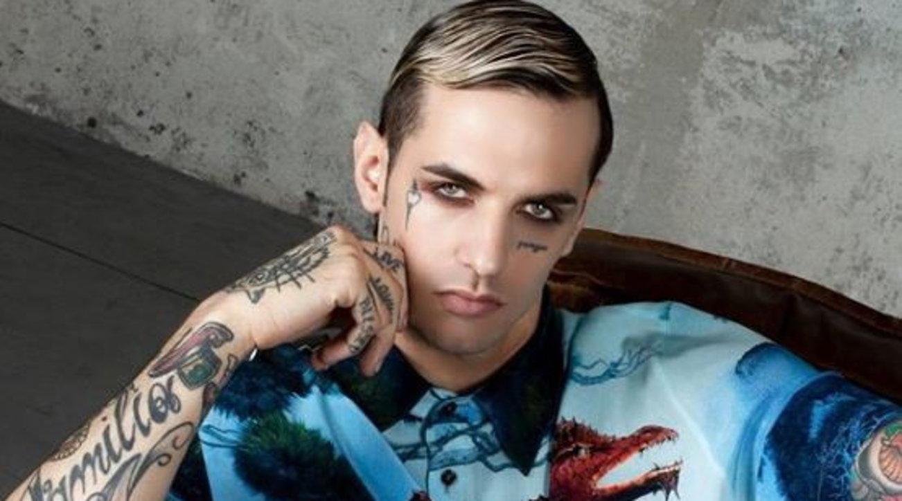 I tatuaggi di Achille Lauro