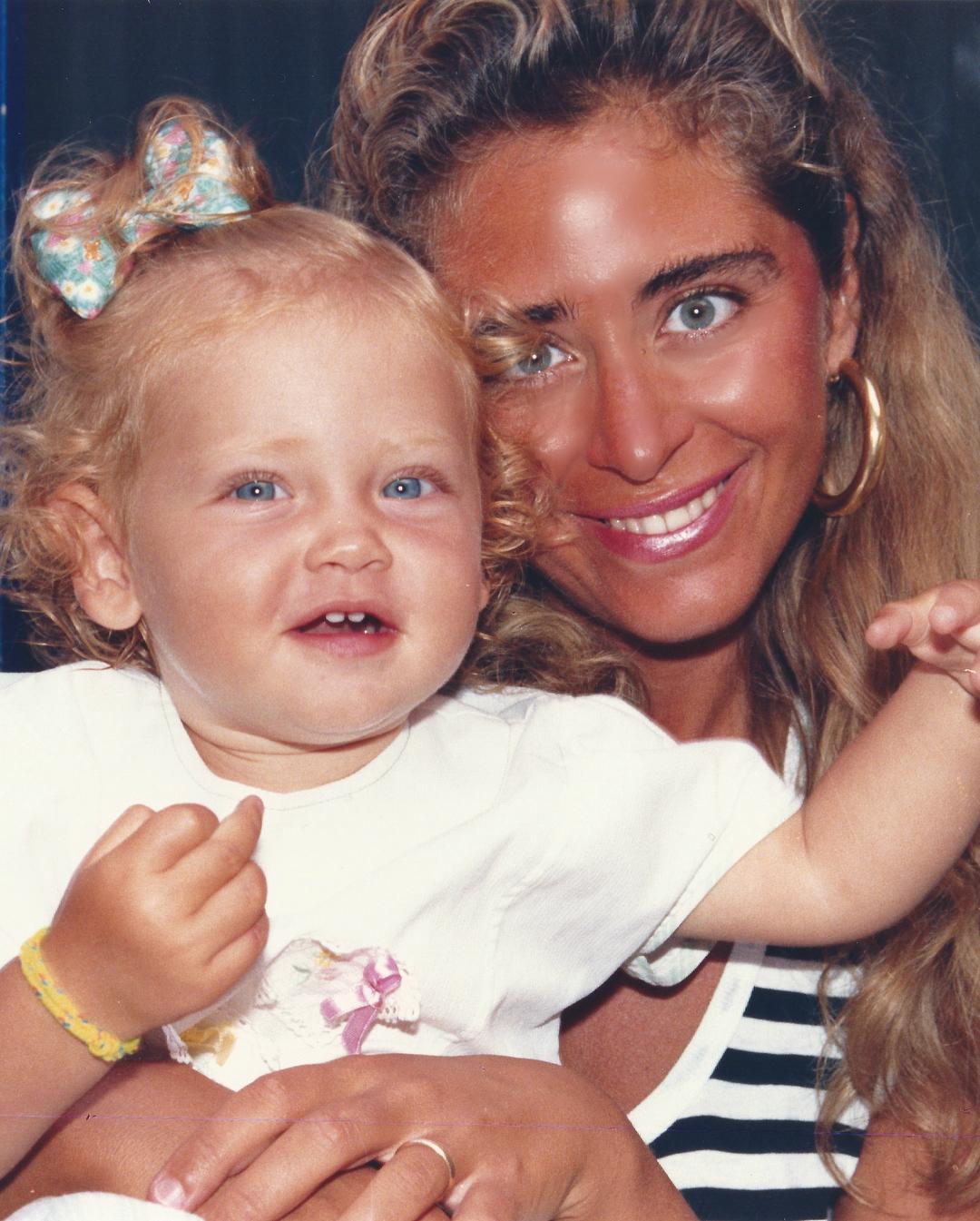 Chiara Ferragni e la foto da bambina