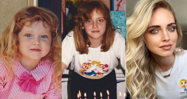 Chiara Ferragni e le foto da bambina