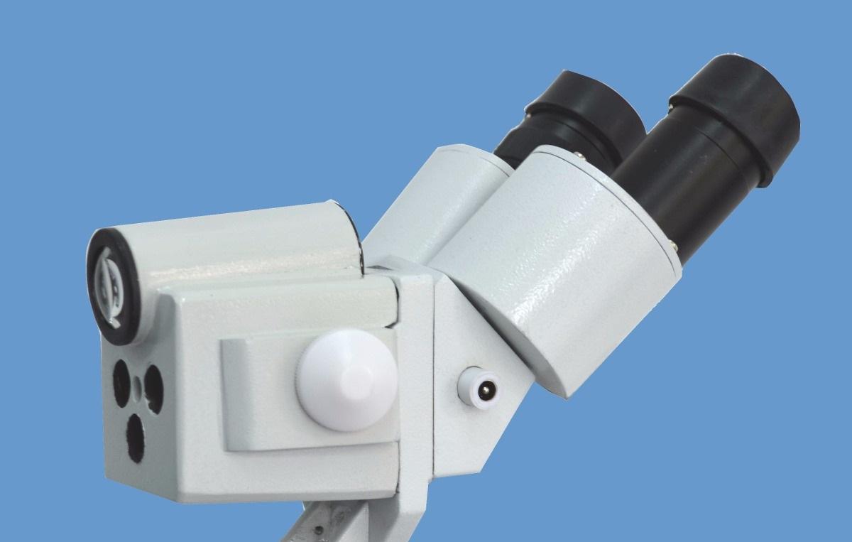 Immagine di un colposcopio