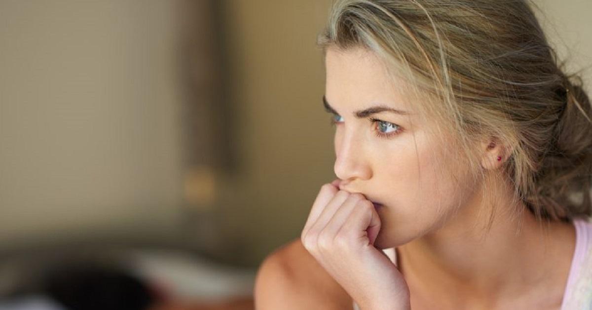 Donna con l'ansia