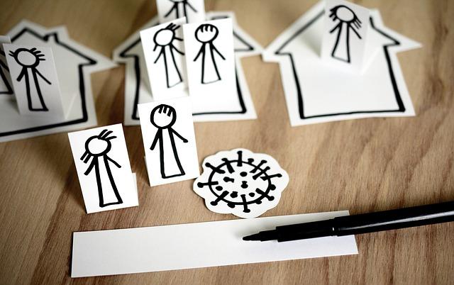 Isolamento per i parenti del positivo