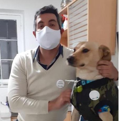 Il cane e il suo padrone