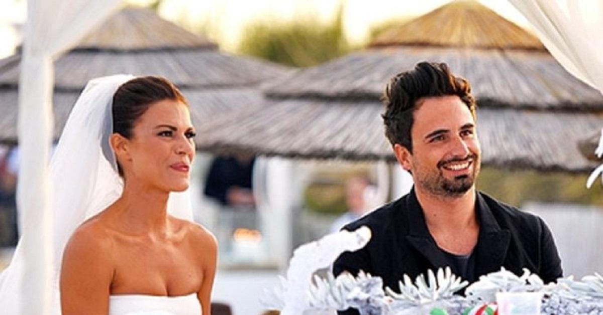Bianca Guaccero e l'ex marito