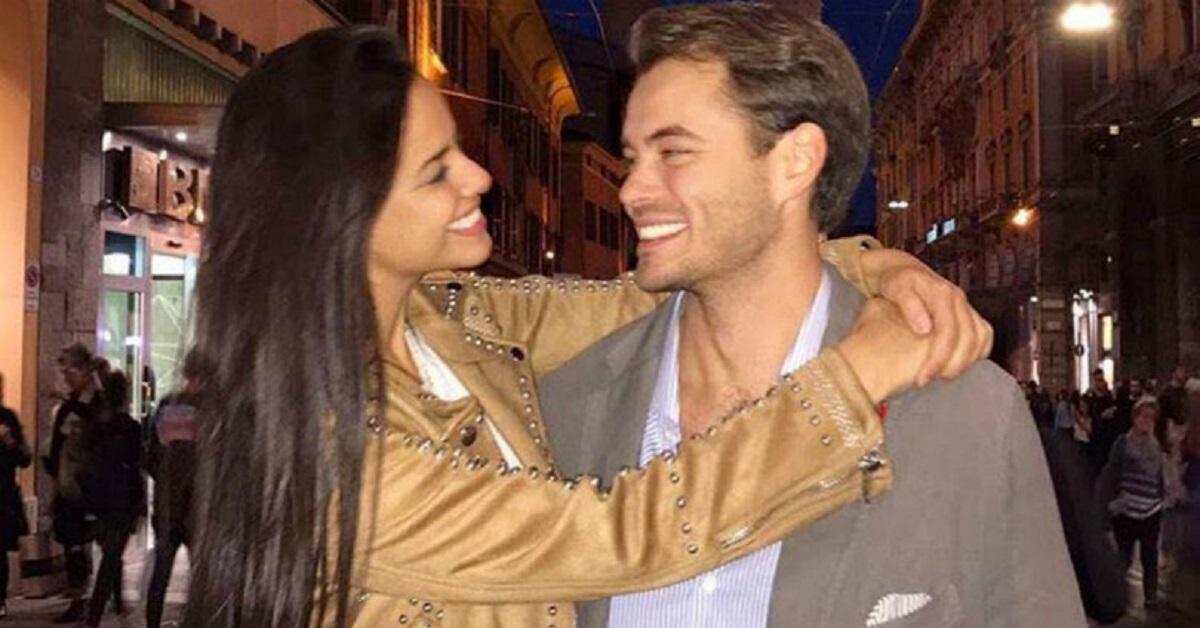 Laura La Bruna e il fidanzato