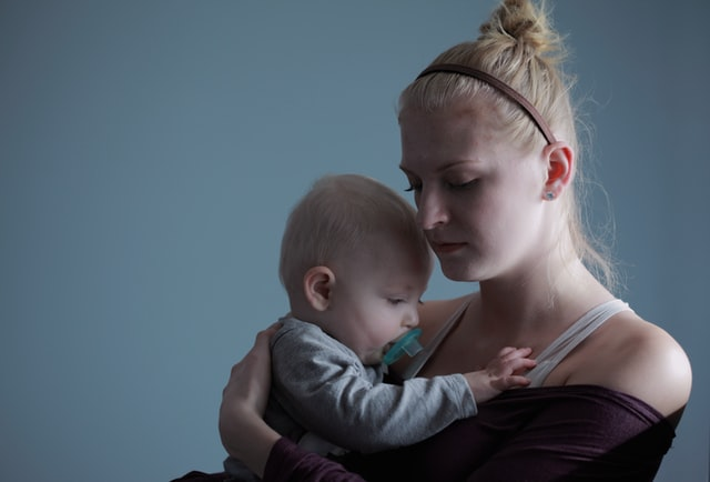 Mamma con  un bambino
